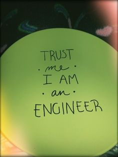 "DIY -sharpies & cheap plate. ""Trust me. I'm an engineer!"" Fun #boyfriend gift idea:)"