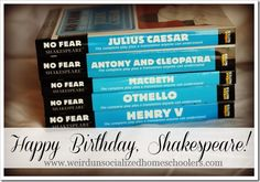 10 quick facts about Shakespeare and an introduction to the No Fear Shakespeare series