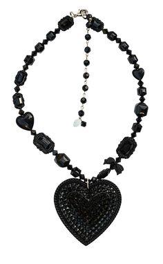 Tarina Tarantino Crystal Heart Necklace