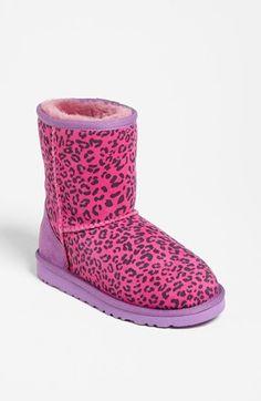 UGG® Australia Leopard Print Short Boot (Walker, Toddler & Little Kid)(Nordstrom Exclusive) available at #Nordstrom
