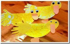 Cute duck craft