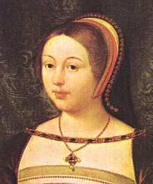 Margaret Tudor (1489 - 1541). Queen of Scotland from 1502 to her husband's death in 1513. She married James IV and had four sons. After his death she married Archibald Douglas and had one daughter. She then divorced him and married Henry Stewart, Lord Methven.