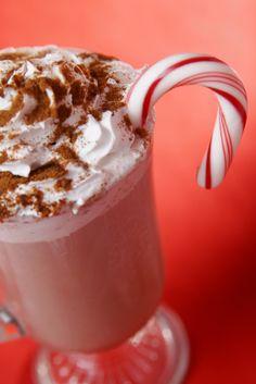 Minty hot cocoa #recipe