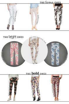 Get the Look: Floral Pants