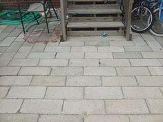 cement blocks are in