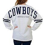 Dallas Cowboys PINK Varsity Crew @vspink