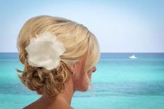 Wedding Hair #Updo #'Beachy