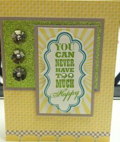 CTMH:  Laughing Lola Cardmaking WOTG stamp set with Babycakes paper and Green Glitter Paper. #ctmh #heart2heart #colordare #stamp #ink #card #glitter  https://www.facebook.com/Sheila.Stamping.Stuff