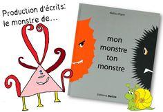 """Réalisation d'un livre """"monstres"""" - Caracolus"""