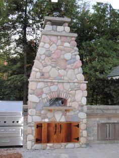 guy 39 s big bite pizza oven outdoor kitchen plans pinterest. Black Bedroom Furniture Sets. Home Design Ideas