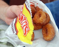Calgary Stampede, Those Little Donuts!! Damn you soft, warm, cinamonny Little Donuts! pic by Zoey Duncan, via Flickr