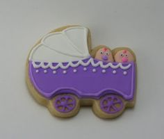 Cookie for Twin Baby Shower