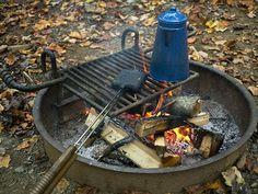 Pie Iron Breakfast Sandwiches - The Camp Gal