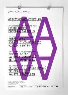 Clase bcn / Corporate Identity for Arts Santa Mònica