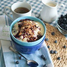 Blueberry Cobbler Oatmeal