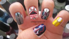 Glee nails?  How funny.