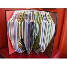 cookeri book, book wedding, folded book art, book sculpture, fold book, book 20