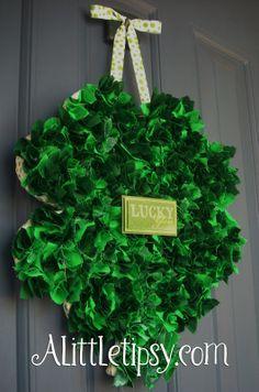 Fun St Patrick's Day Wreath
