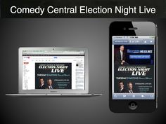 "Comedy Central took advantage of yesterday's election to boost downloads of The Daily Show smartphone app. This is the same email, but with different ""top of the fold"" image and call-to-action based on whether the message was opened on a desktop or smartphone."
