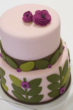 Baby Shower Cake by studiocake, via Flickr