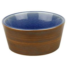I pinned this Pure Nature Dipping Bowl in Blue from the Santorini Seaside Dining event at Joss and Main!