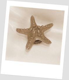 Metal Starfish Decorative Bathroom Sink Drains