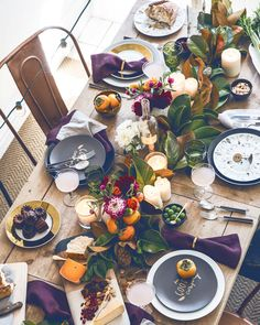 table settings, fall table, rustic table, thanksgiving table, table runners, rustic wood, dining tables, tabl set, holiday tables