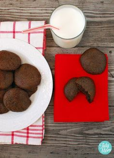 Weight Watcher 2 points - Big, Soft, Almost Fat-Free Chocolate Cookies