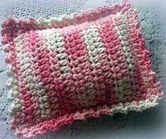 Free Crochet Rice Bag