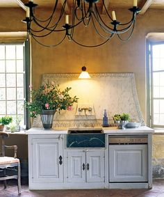 The Enchanted Home: Six degrees of separation from a white kitchen!#