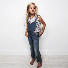 the best denim dungaree for girls!