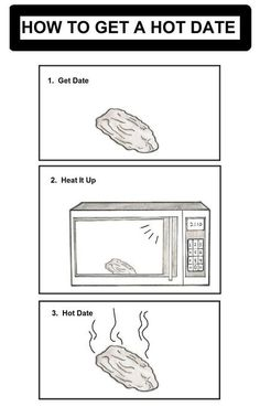 How to get a hot date.