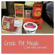 Crockpot recipes for working moms (or anyone looking to save time on dinner).