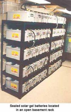 Solar Power 101: Batteries