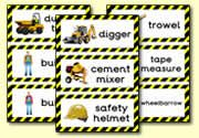 Construction Site flashcards