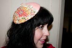 vintage style hat DIY
