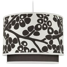 Oilo Modern Berries Double Cylinder Light - Brown