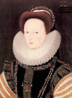 Anne Knollys, granddaughter of Mary Boleyn, great niece of Anne Boleyn, and sister to Lettice Knollys
