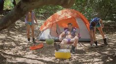Wood in the Woods - Behind the scenes of the Andrew Christian camping campaign