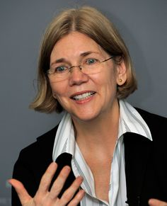 Elizabeth Warren; Harvard law professor, chair of congressional oversight panel. The voice of the middle class!