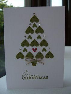 50+ Creative Homemade Christmas Cards Showcase #Christmastreecraft