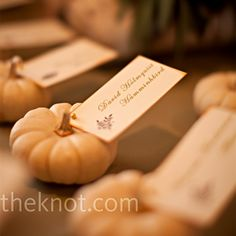 Thanksgiving placecard holders