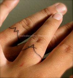 Wedding Ring Tattoo by heartMelinda.deviantart.com