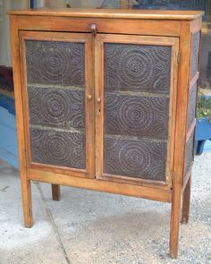 Antique Early American country Pie Safe