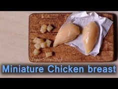 Realistic Miniature Chicken Breast - Polymer Clay Tutorial - YouTube