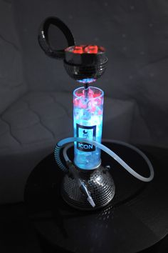 Unicum Hookahs withFrom a Russian Restaurant / Hookah lounge: http://k-smoke.ru/gallery.html Ice