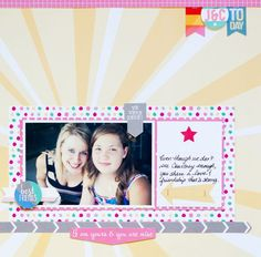 Layout By Kay Rogers using the Elle's Studio 2014 exclusive July kit