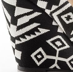 These gorgeous tribal print wedges will be available on shoemint.com in September :) I`m waiting for the new collection :)