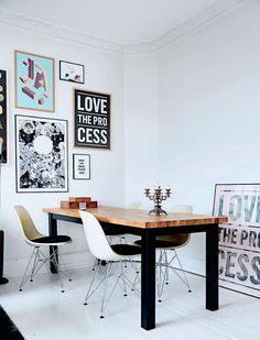 The graphic home of Kathrine Højriis - via cocolapinedesign.com