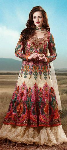 128059: #lehenga #anarkali #newcollection #designer #Bridalwear #weddingcouture